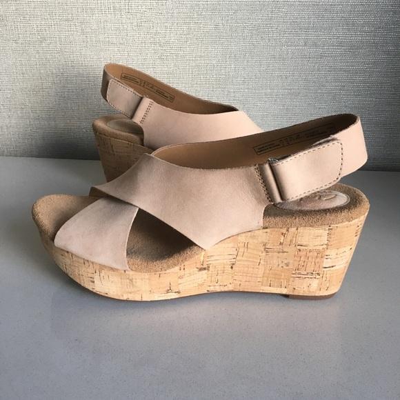 3c7989ac3c0a1 Clarks Caslynn Shae Sandals in Nude